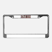 Cute Edgar License Plate Frame