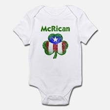 McRican distressed Infant Bodysuit