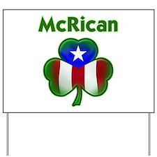 McRican Yard Sign