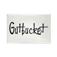 Gutbucket Rectangle Magnet