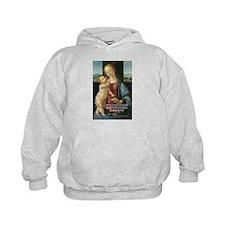 Leonardo da Vinci Madonna Hoodie