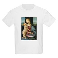 Leonardo da Vinci Madonna Kids T-Shirt