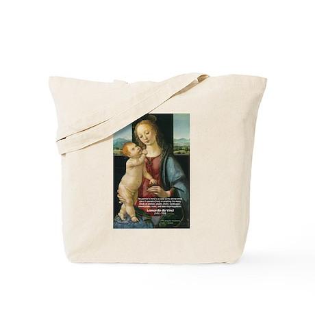 Leonardo da Vinci Madonna Tote Bag
