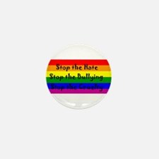 Stop the Hate Mini Button (10 pack)