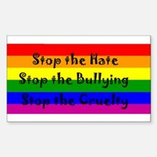 Stop the Hate Decal