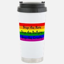 Stop the Hate Stainless Steel Travel Mug