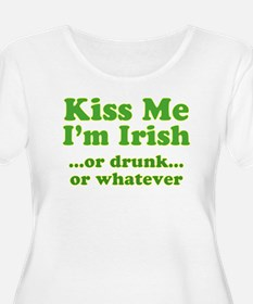 Kiss Me I'm Irish or Drunk or T-Shirt