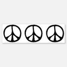 Flowing Peace Sign Sticker (Bumper)