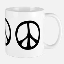 Flowing Peace Sign Mug