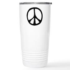 Flowing Peace Sign Travel Mug