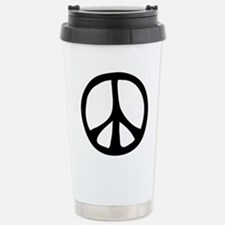 Flowing Peace Sign Travel Mug