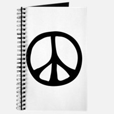 Flowing Peace Sign Journal