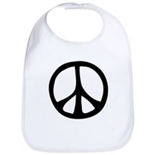 Flowing Peace Sign Bib