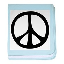 Flowing Peace Sign Infant Blanket