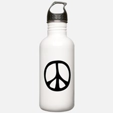 Flowing Peace Sign Water Bottle