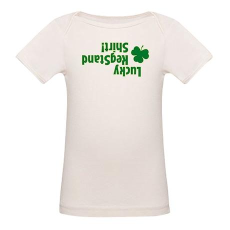 Lucky Kegstand Shirt! Organic Baby T-Shirt