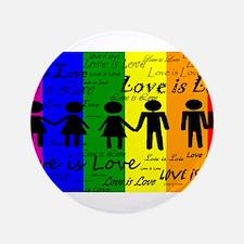 "Love is Love 3.5"" Button"