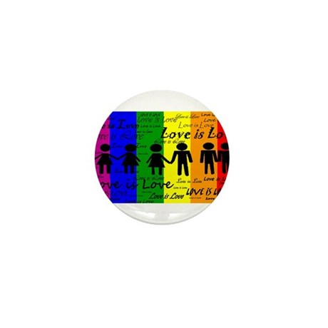 Love is Love Mini Button (100 pack)