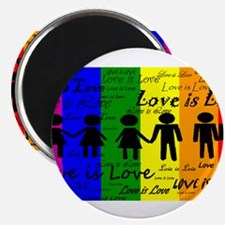 "Love is Love 2.25"" Magnet (100 pack)"