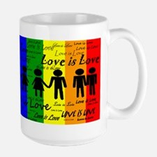 Love is Love Large Mug