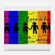 Love is Love Tile Coaster