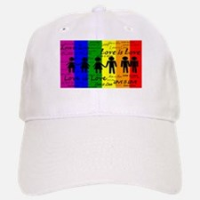 Love is Love Baseball Baseball Cap