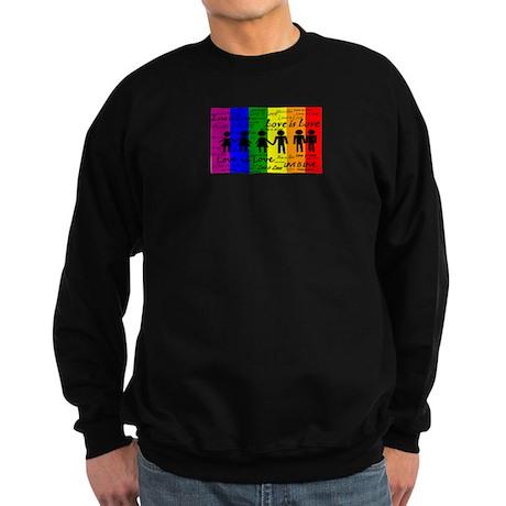 Love is Love Sweatshirt (dark)
