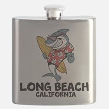 Long Beach, California Flask