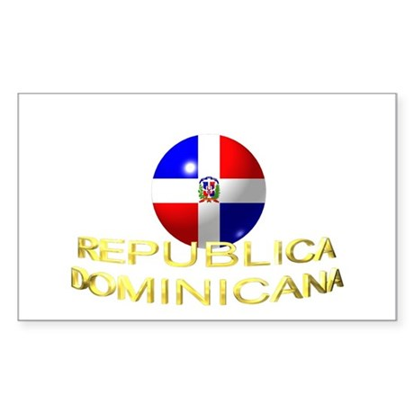 REP. DOMINICANA Sticker (Rectangle)