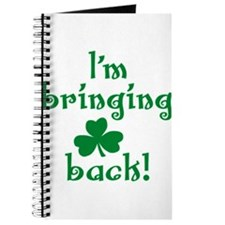 I'm bringing shamrock back Journal