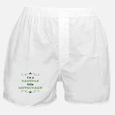 I'm a Naughty Little Leprecha Boxer Shorts
