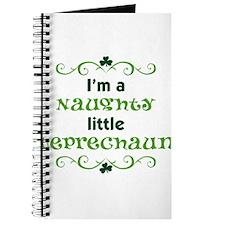 I'm a Naughty Little Leprecha Journal