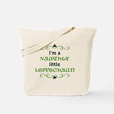 I'm a Naughty Little Leprecha Tote Bag