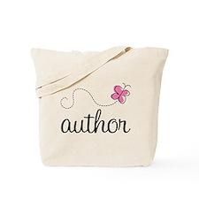 Cute Author Tote Bag