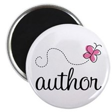 Cute Author Magnet