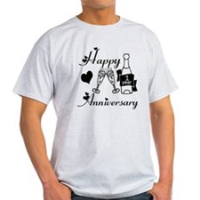 Anniversary black and white 1 copy T-Shirt