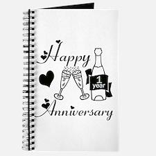 Unique 1st anniversary Journal