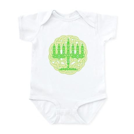 Celtic Menorah Infant Creeper