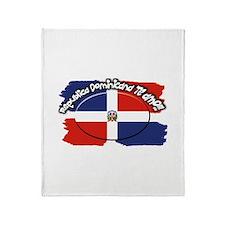 REP. DOMINICANA Throw Blanket