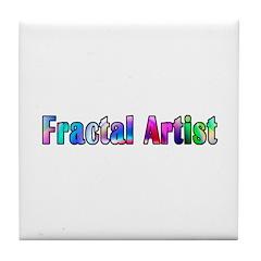 Fractal Artist 2 Tile Coaster
