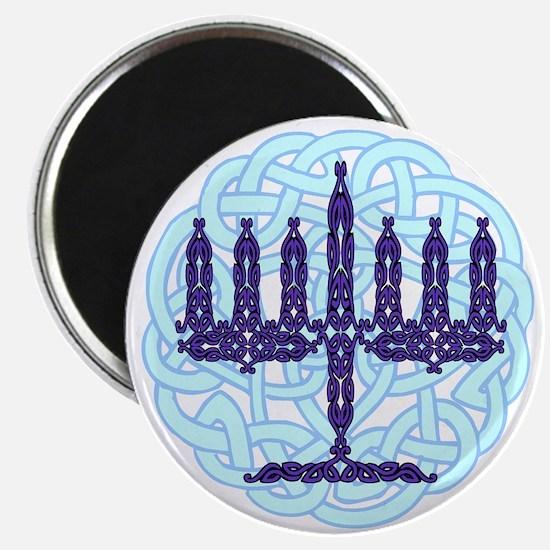 Celtic Menorah Magnet