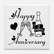 Cool Wedding anniversary favors Tile Coaster