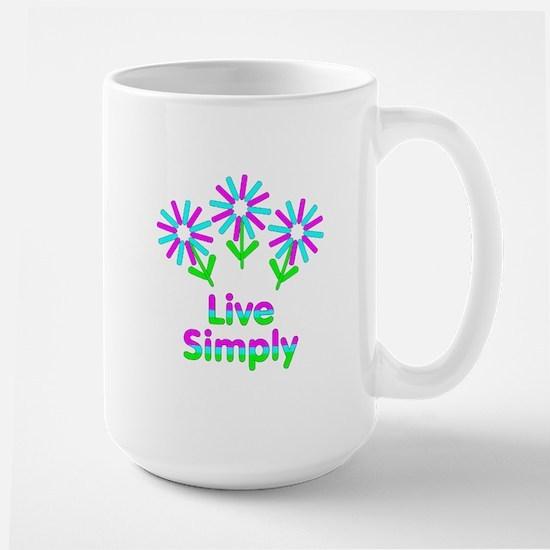 Live Simply Mug