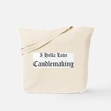 I Hella Love Candlemaking Tote Bag