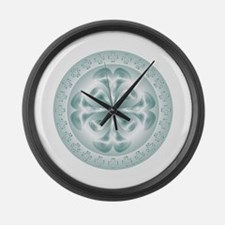 Cute Health and health conditions Large Wall Clock