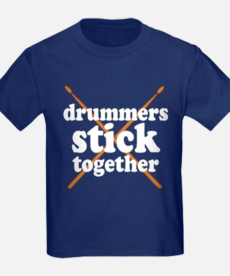 Funny Drummers Stick Together T