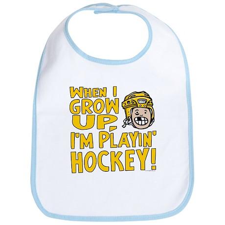 Grow Up Hockey Yellow Bib