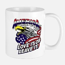 America - Love It or Leave It Mugs