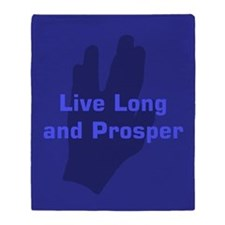 Live Long and Prosper Throw Blanket