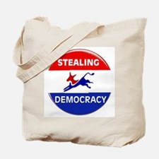STEALING THE FUTURE Tote Bag